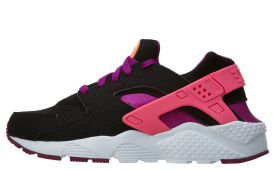 nike-air-huarache-damessneaker-zwart-paars-en-roze